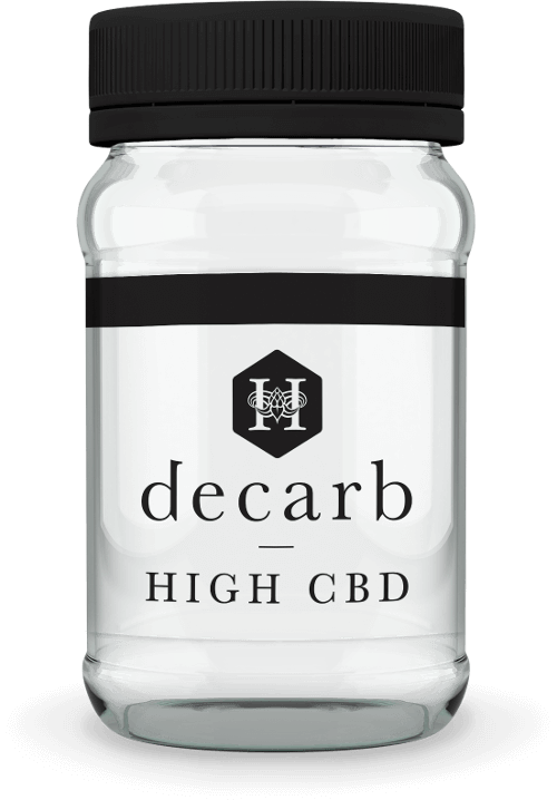 New decarb   high cbd