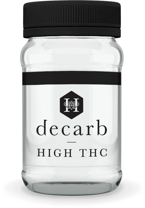 New decarb   high thc