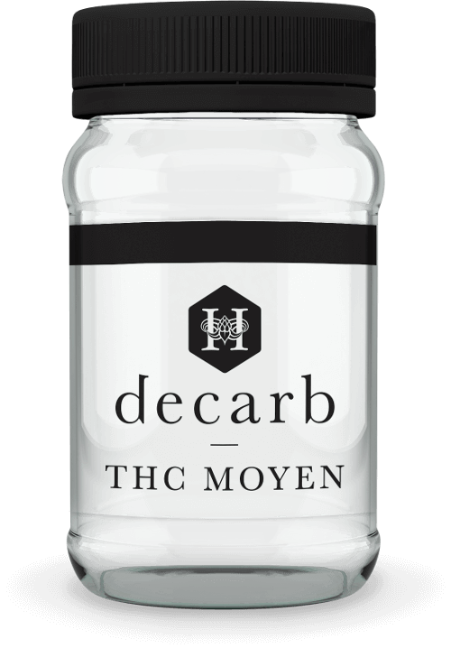 Hydropothecary Decarb Milled Mid THC Medical Marijuana Jar